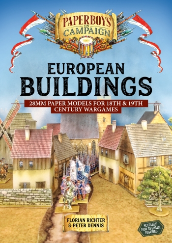 European Buildings : 28mm Paper Models for 18th and 19th Century Wargames